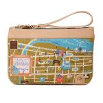 Greetings from Savannah Zip Wristlet